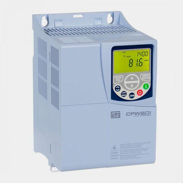 weg INVERSOR DE FREQUÊNCIA – CFW501 - A04P3T2NB20C3 – 1CV – 220V – HVAC