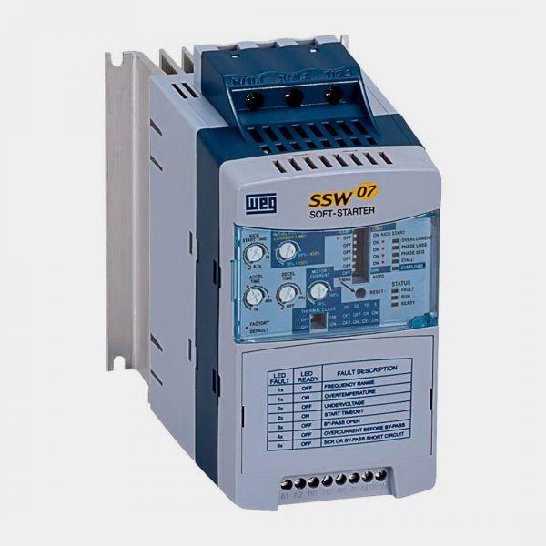 weg SOFT-STARTER SSW070017T5SZ TRIFÁSICO – 220V – 6CV – 4,5KW