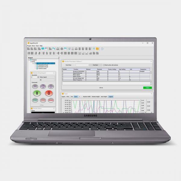 weg Super Drive G2 Software de Parametrização de Drives